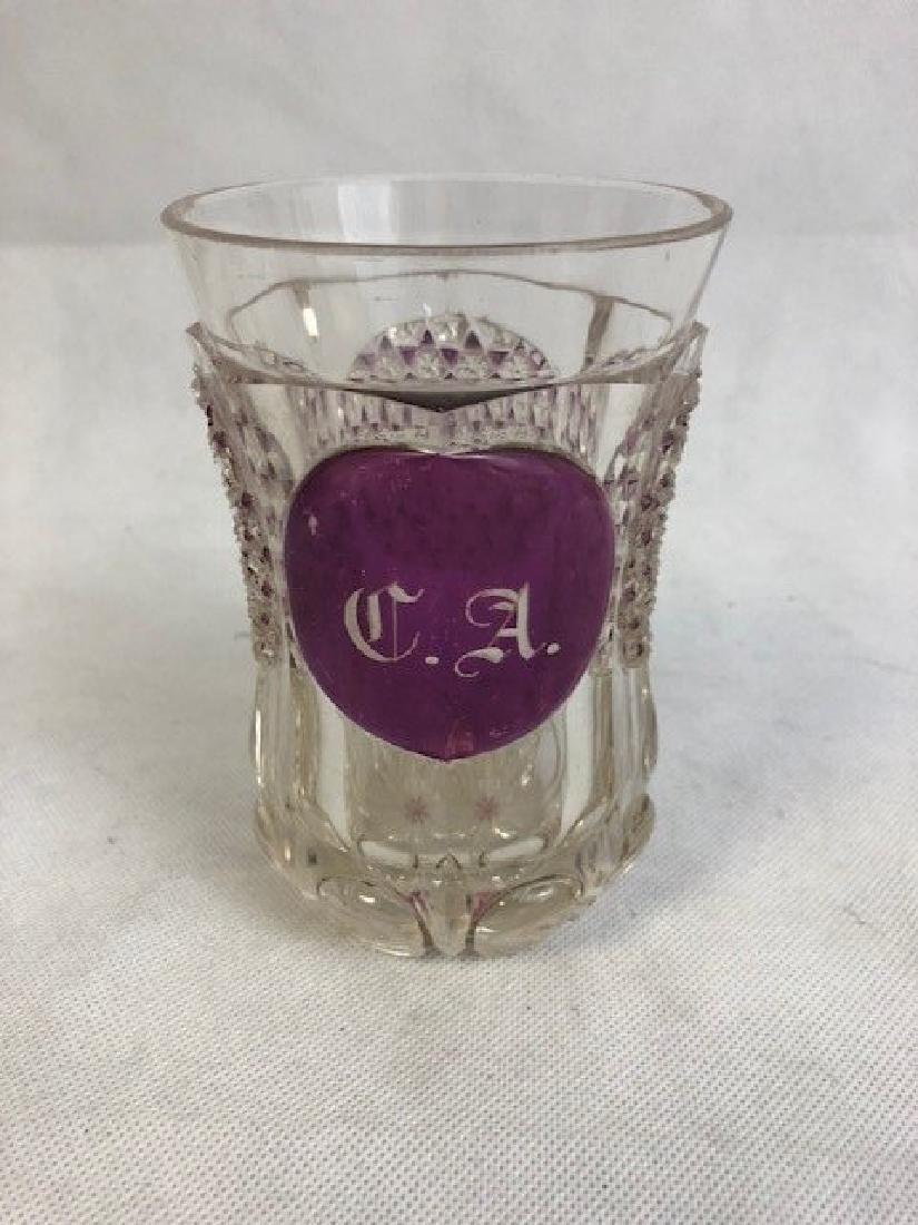 Bohemian Engraved Beaker