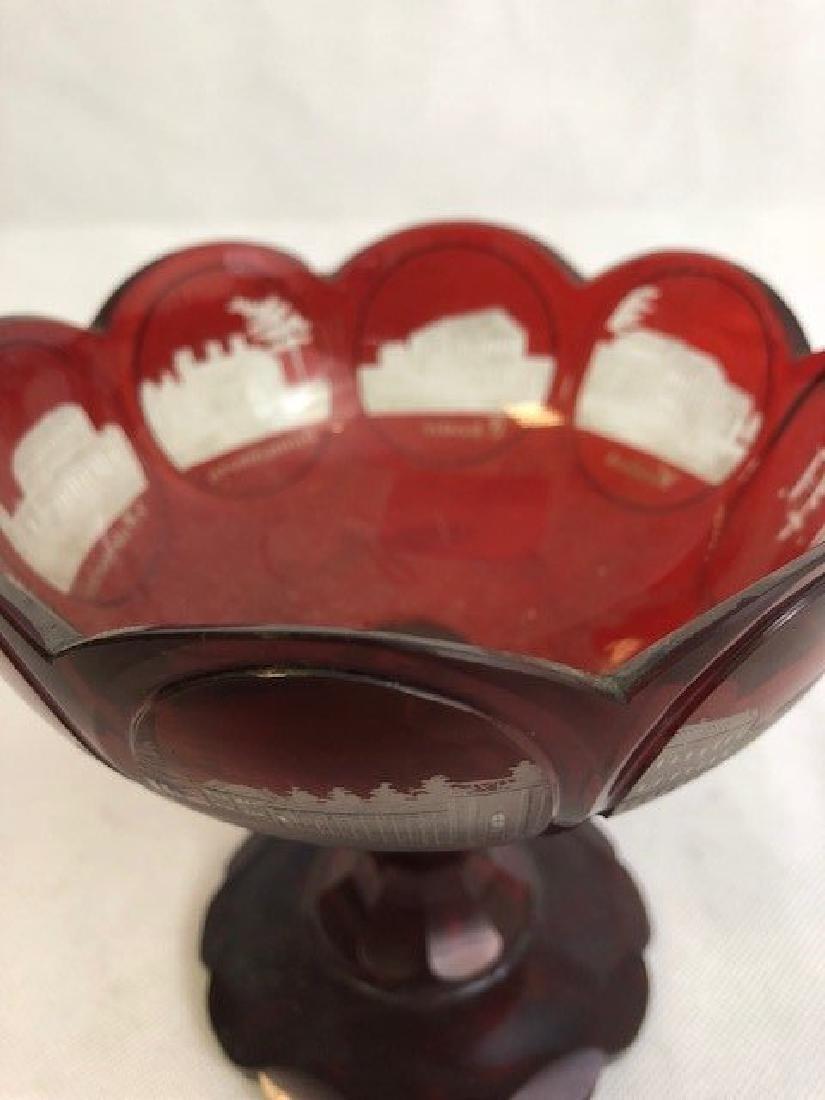 Bohemian Engraved Bowl - 3