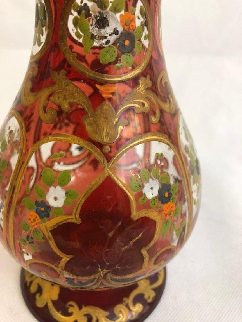 Ruby Huqqa Vase For Middle Eastern Market - 2