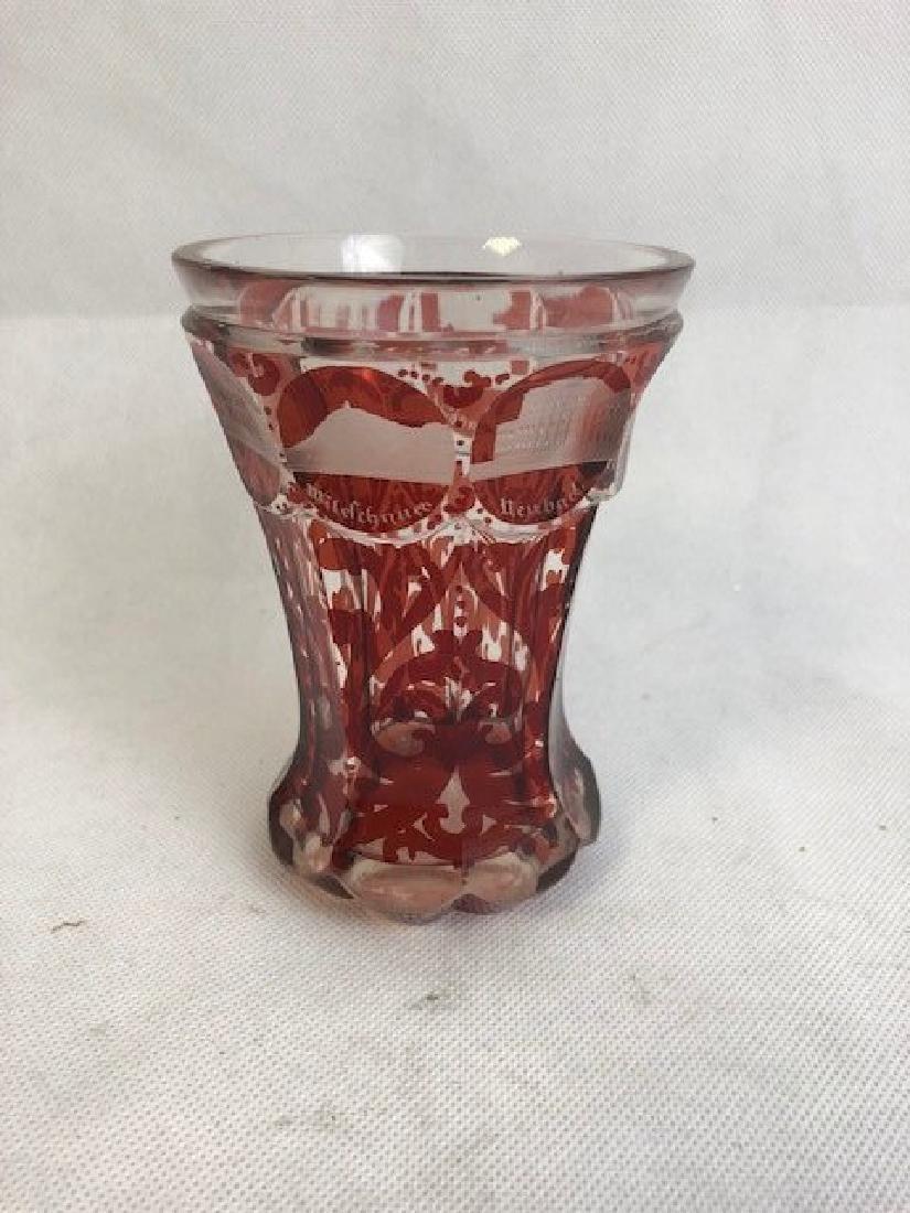 Engraved Venetian goblet