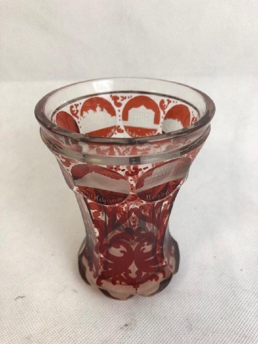 Engraved Venetian goblet - 2