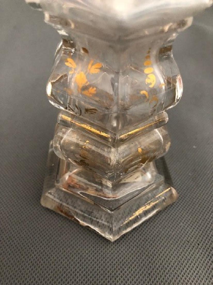 Bohemian Bottle Gold Gilded - 3