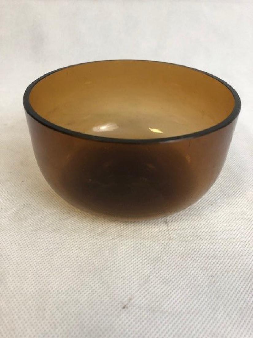 Plain glass bowl - 3