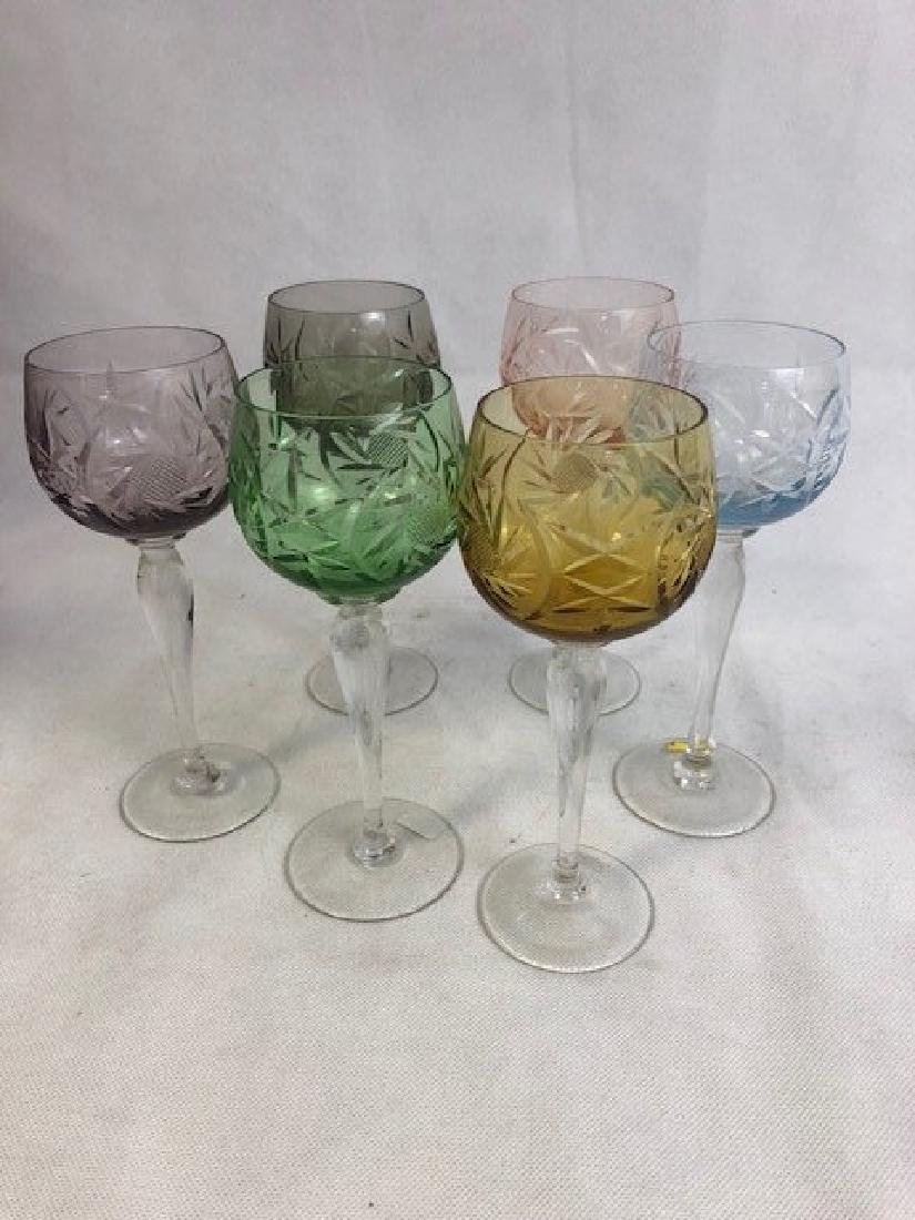 Set of 6 Champagne Glasses