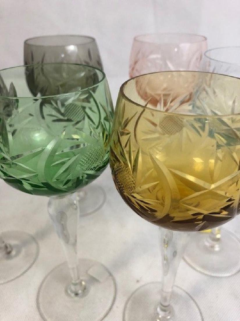 Set of 6 Champagne Glasses - 2