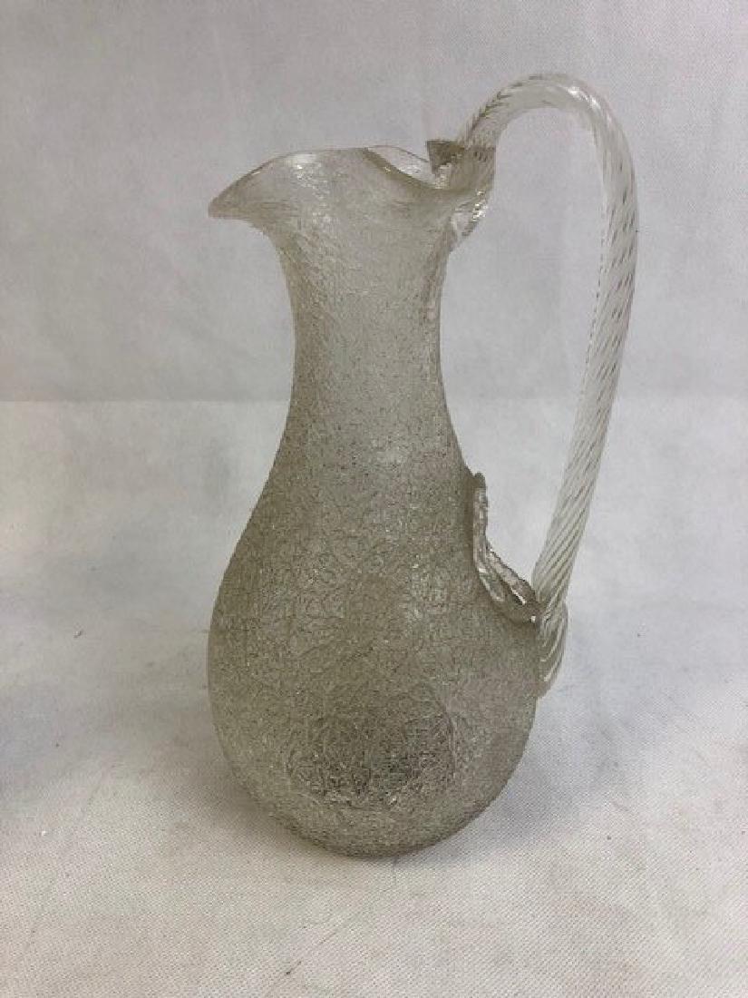 Ice glass jug
