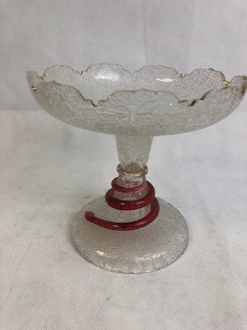 Ice glass comport