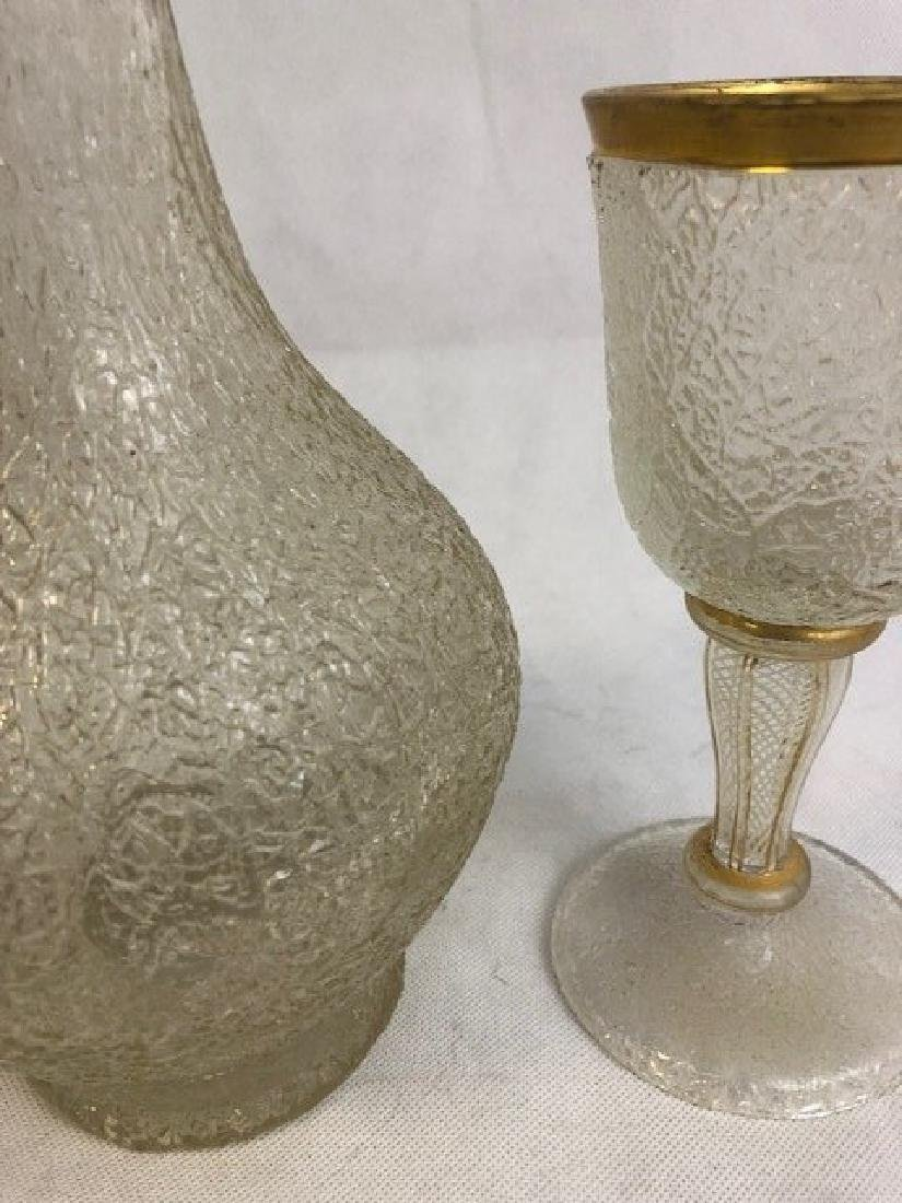 Ice glass jug and a goblet - 2
