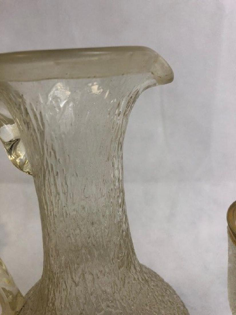 Ice glass jug and a goblet - 3