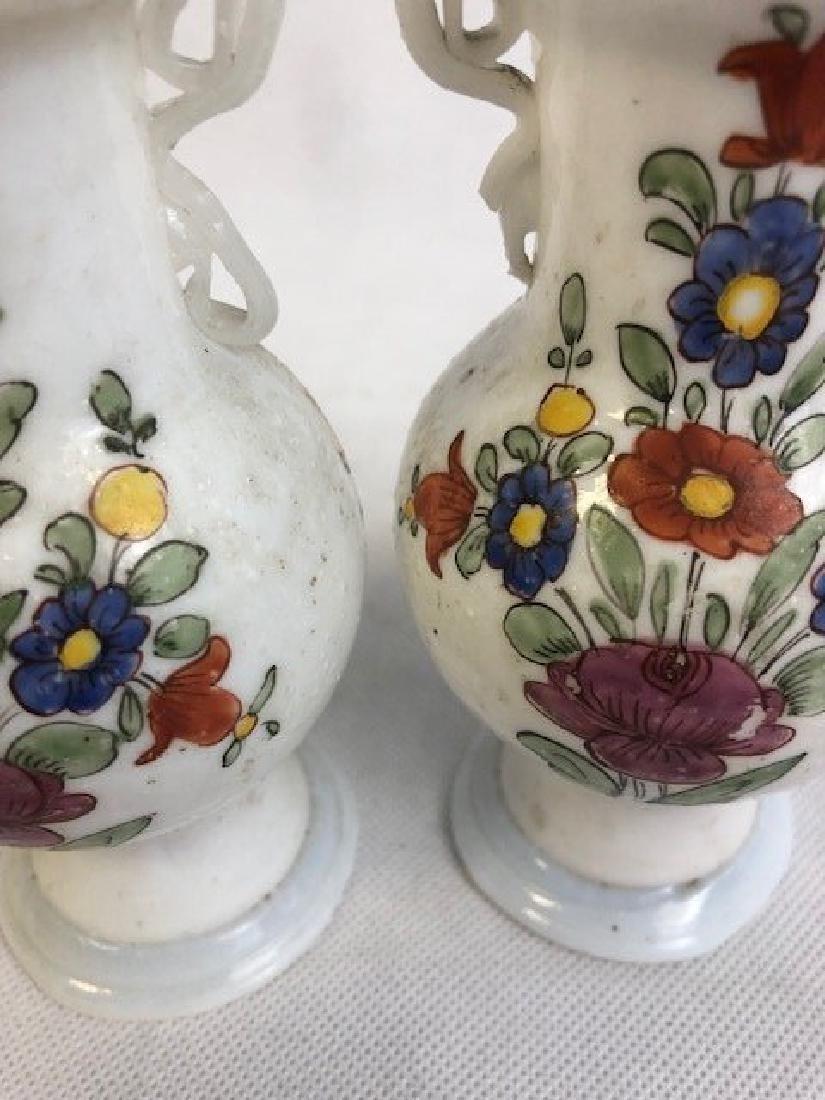 Pair of opaline vases - 2