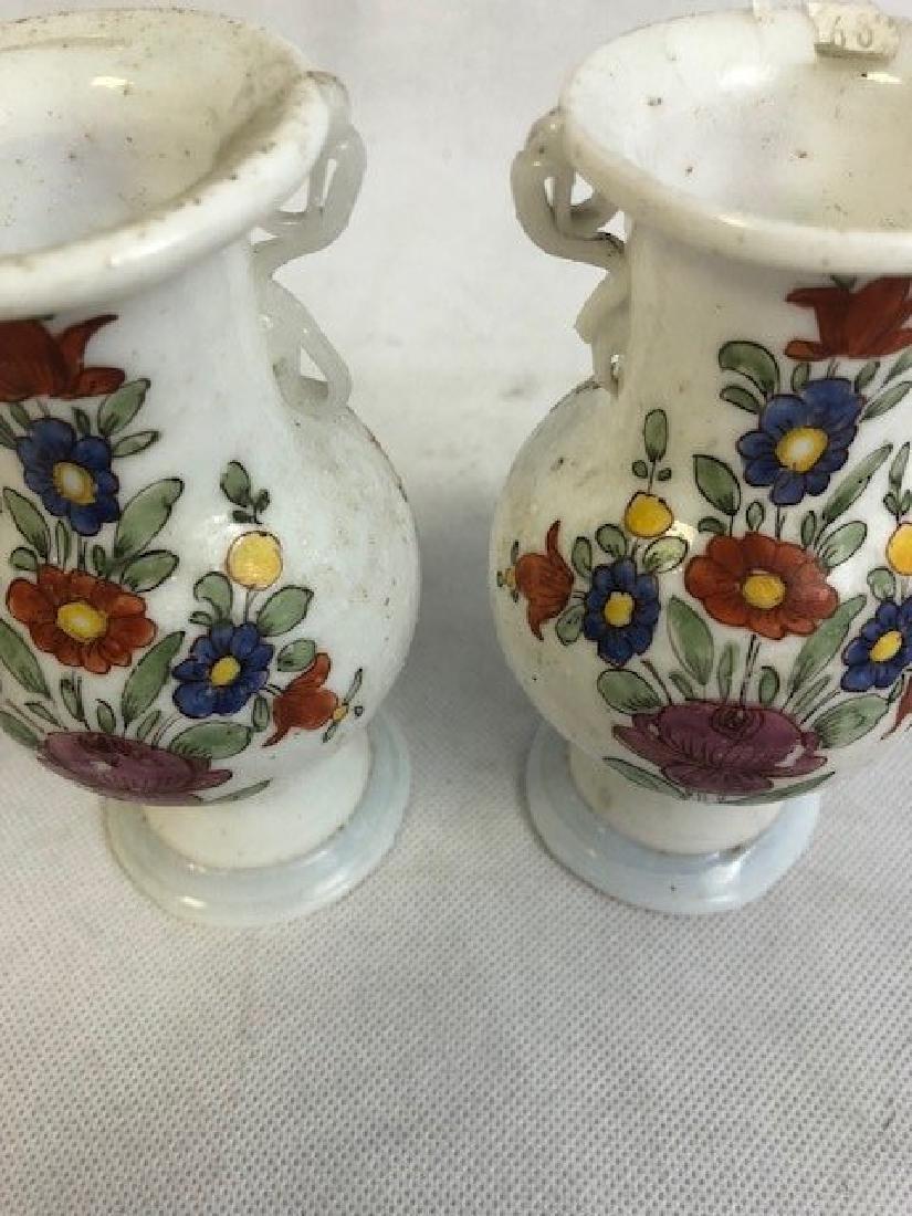 Pair of opaline vases - 3
