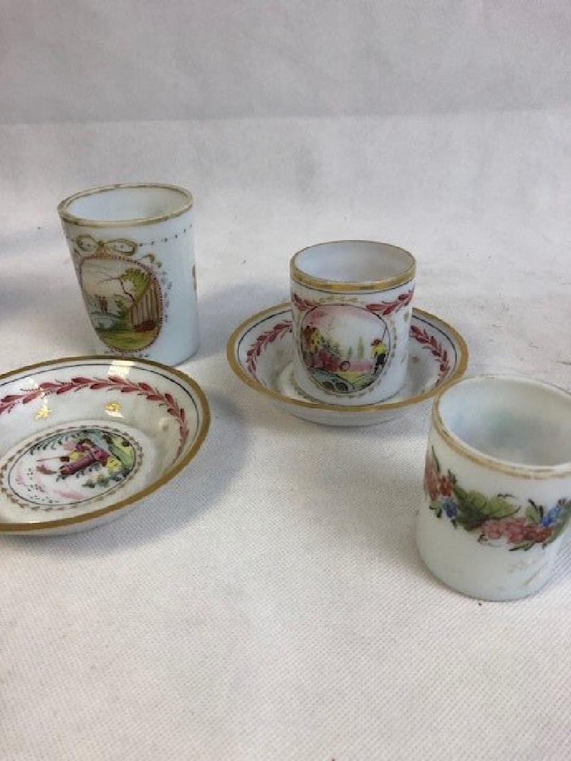 Collection  of opaline set