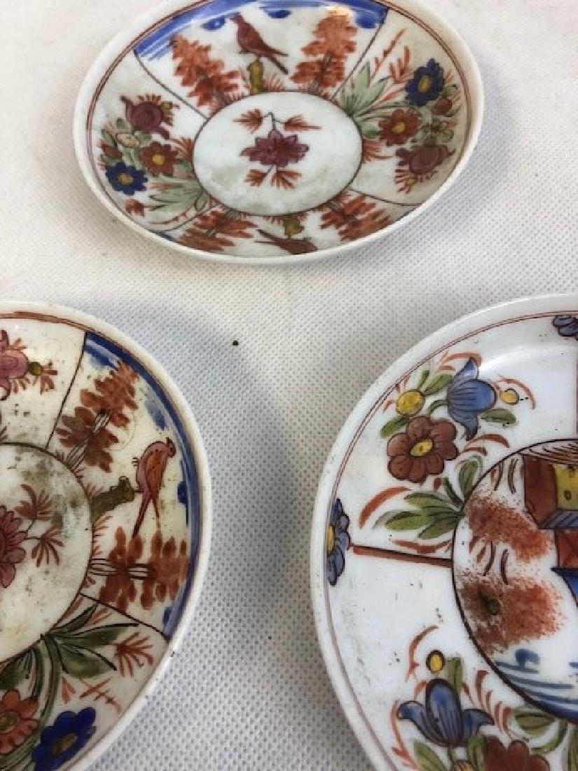 3 Opaline plate set - 2