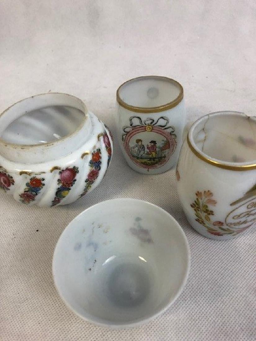 collection of opaline set - 2