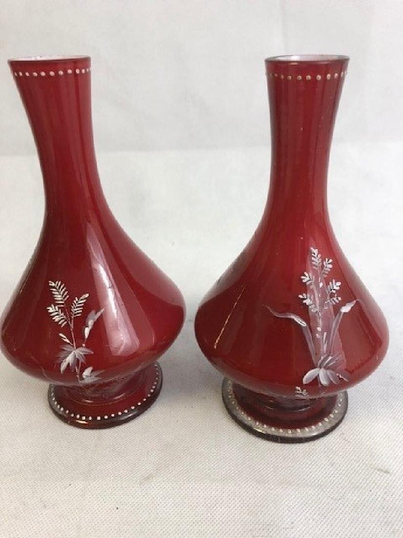 Pair of  bohemian vases - 2