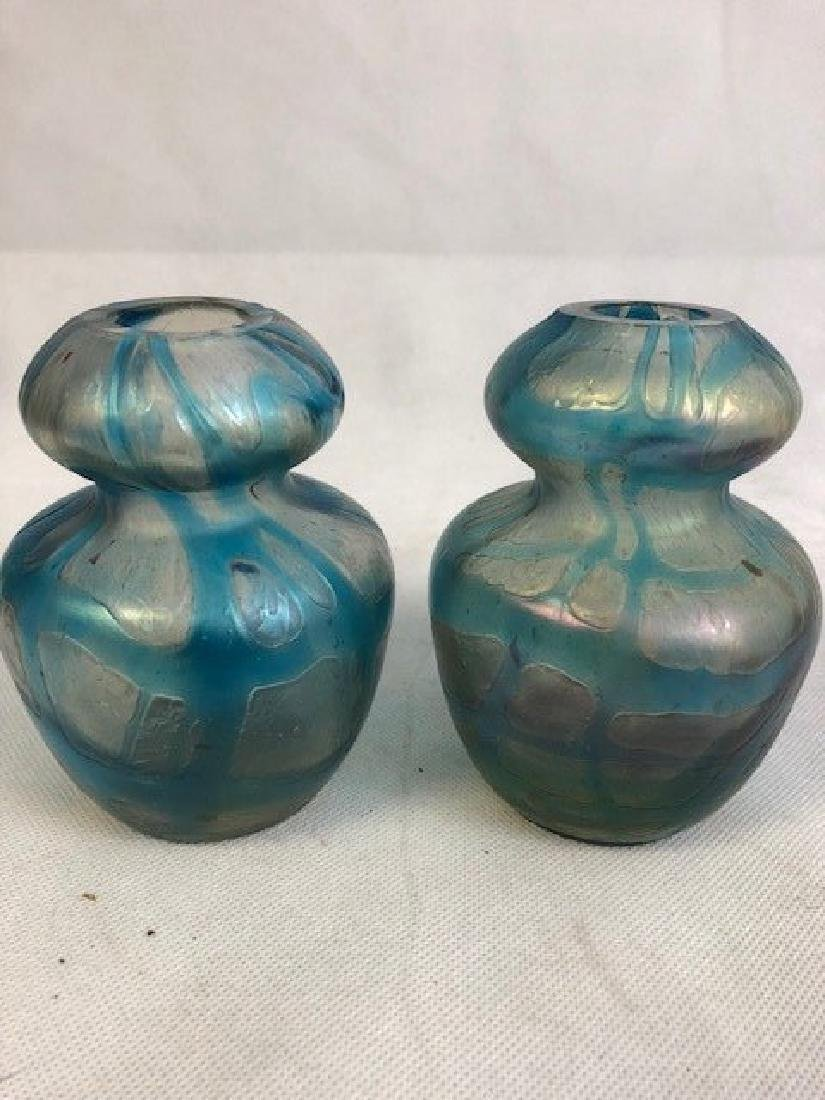 Pair of lotz style vases