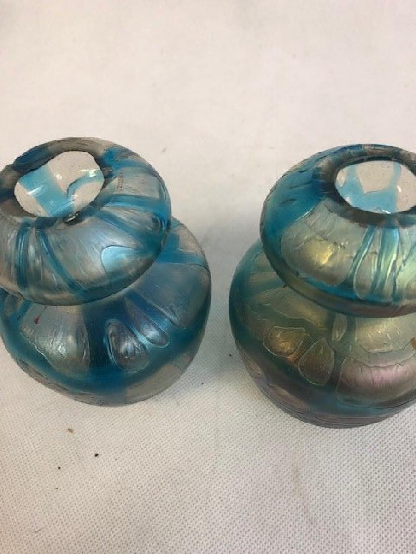 Pair of lotz style vases - 2