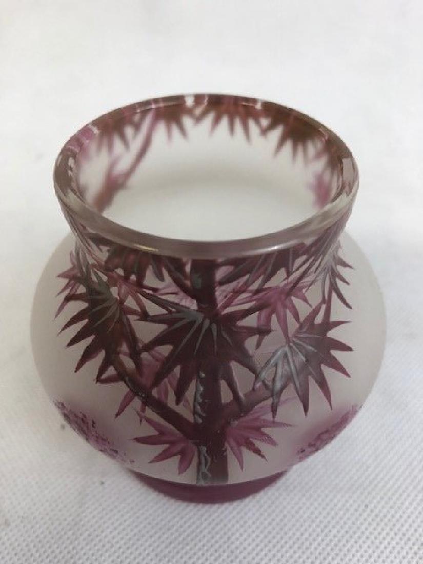Decorative vase Cameo style - 3