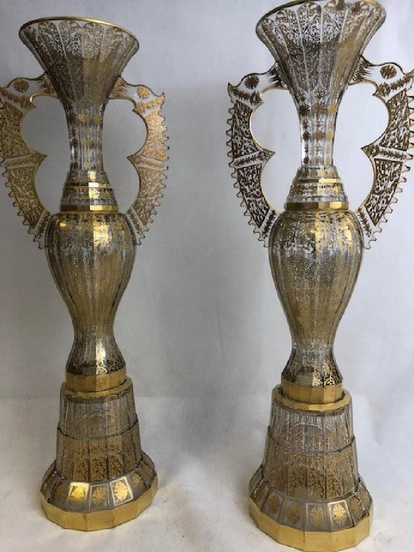 Large  Pair Of  Alhambra Vase