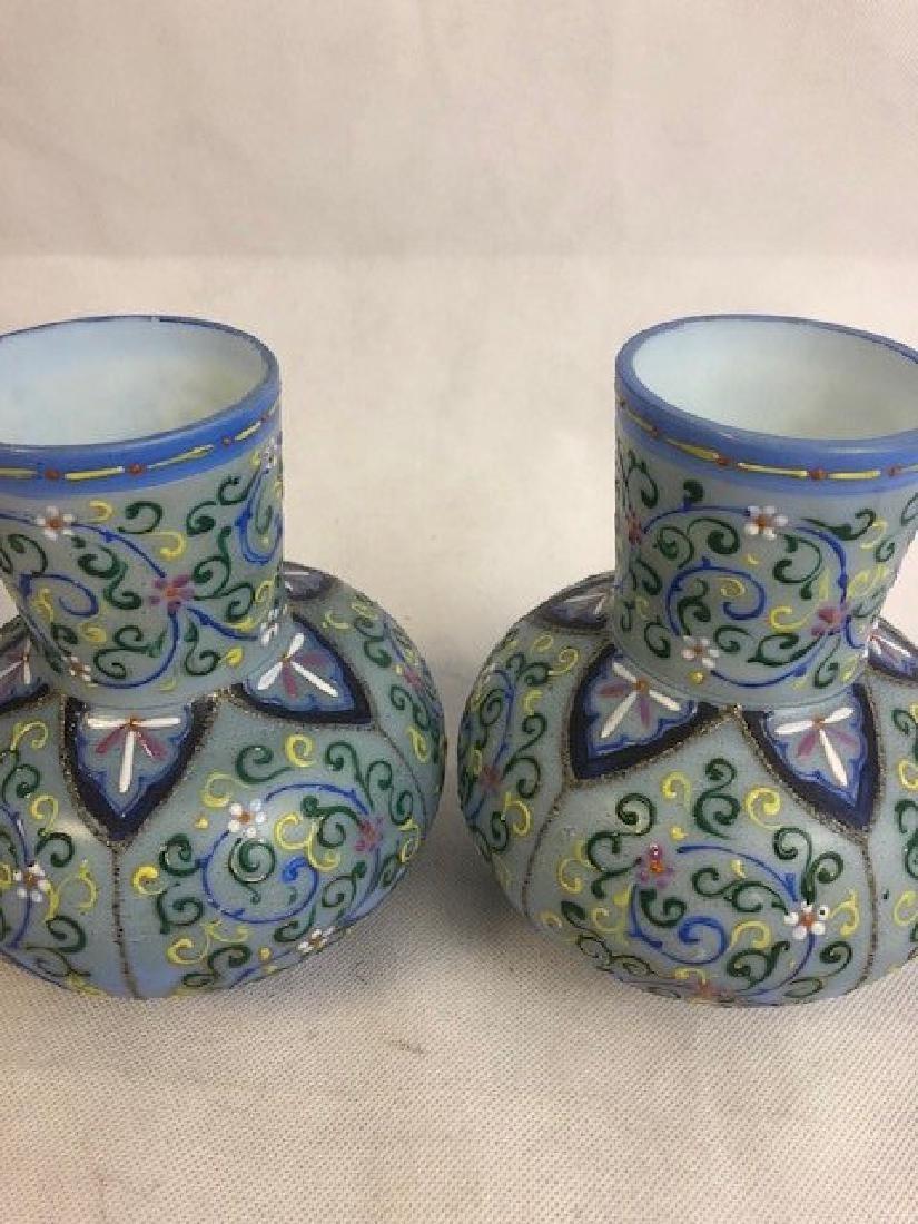 Pair of Thomas Webb vase - 2