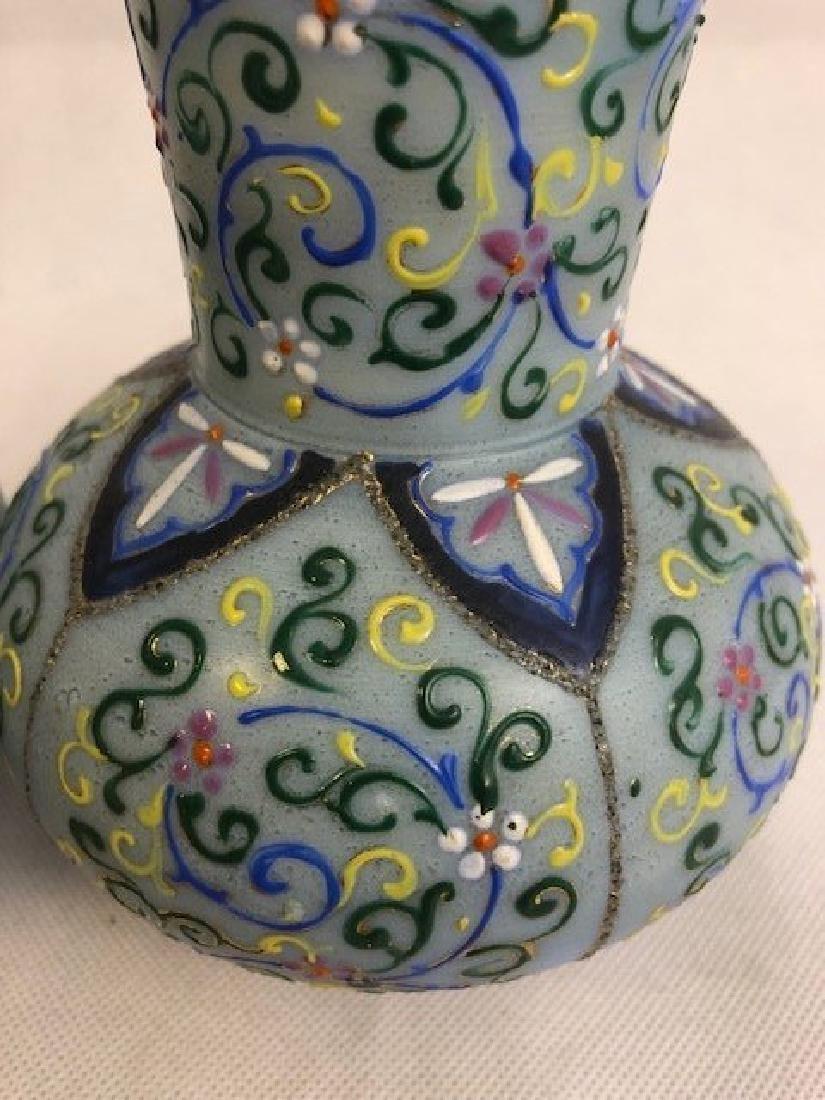 Pair of Thomas Webb vase - 3