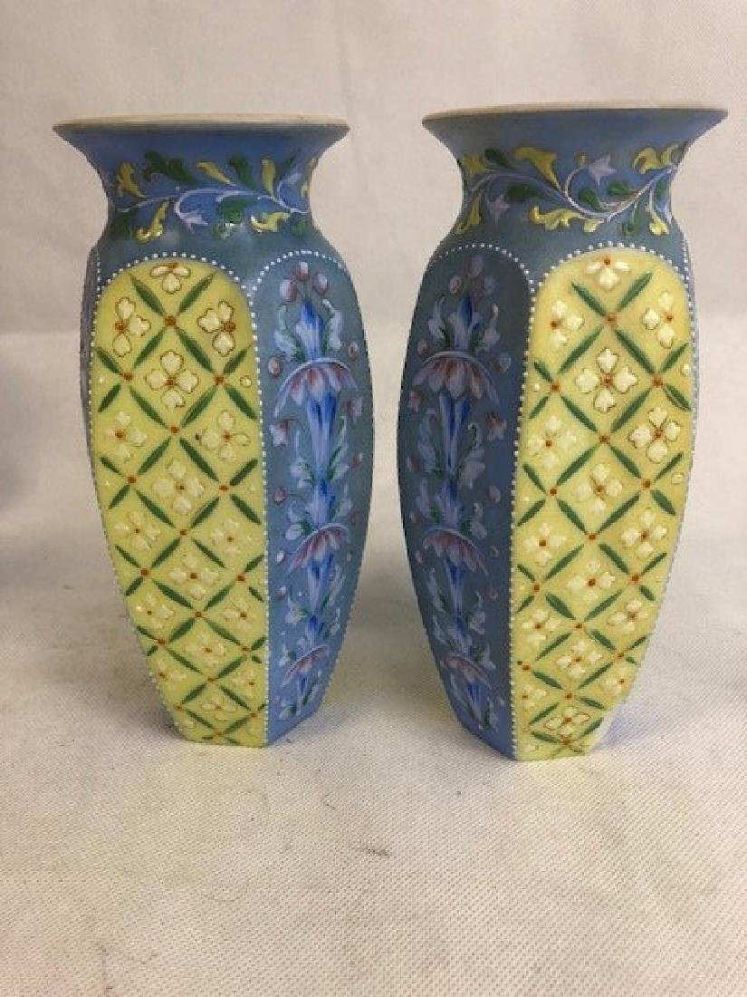 Pair Of Thomas Webb vases