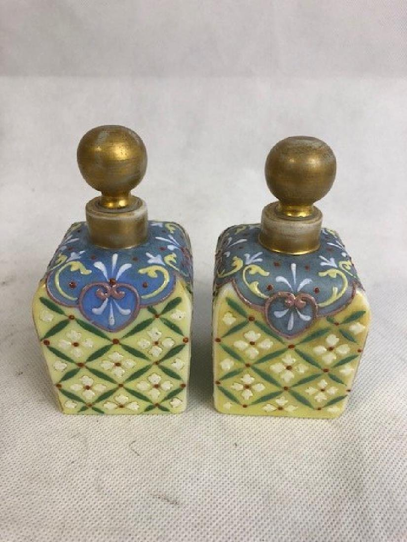 Pair Of Thomas Webb Bottles