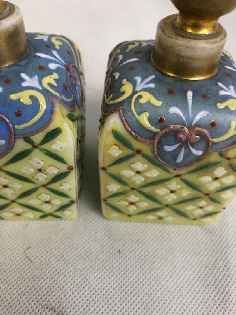 Pair Of Thomas Webb Bottles - 2