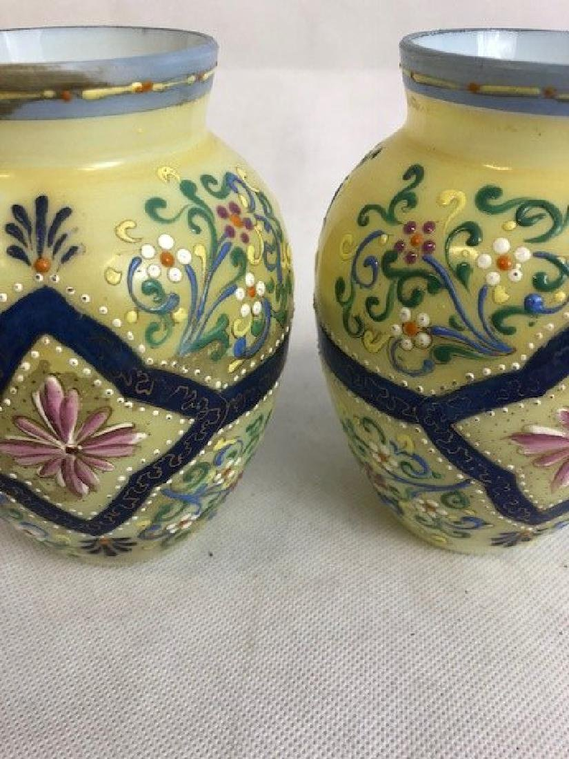 Pair Thomas Webb vases - 3
