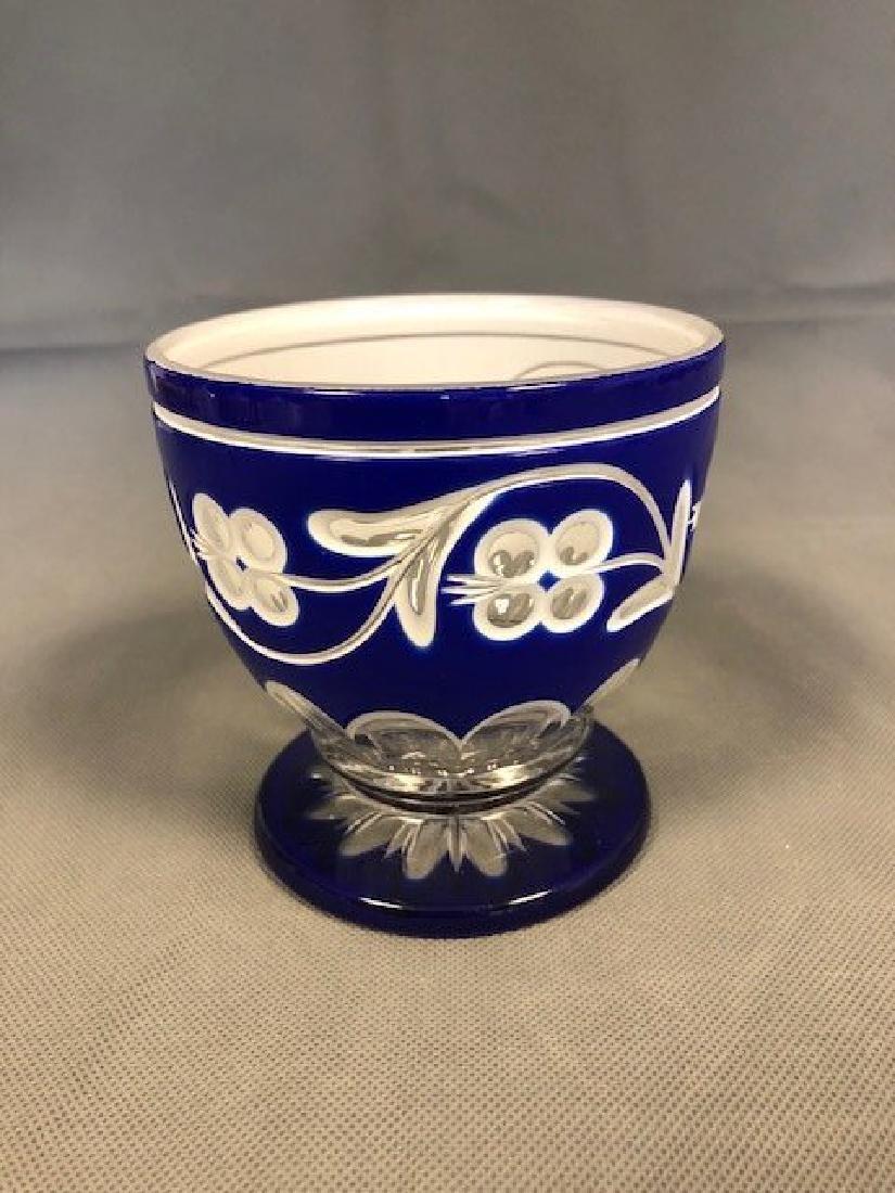 Bohemian blue bowl