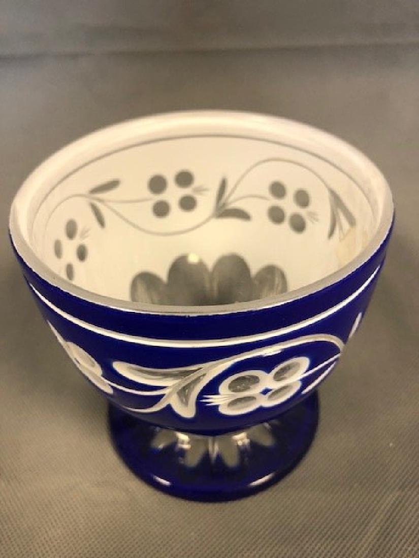 Bohemian blue bowl - 2
