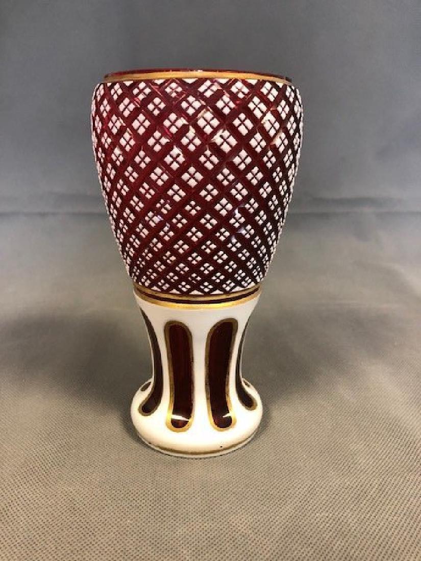 Bohemian vase