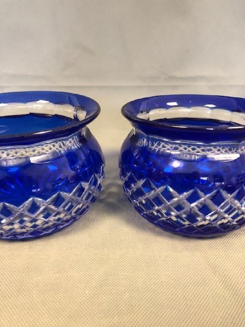 Pair bohemian blue bowls - 2