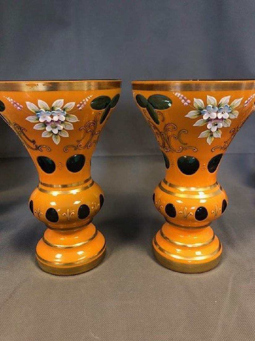 Pair 20 century orange - 2