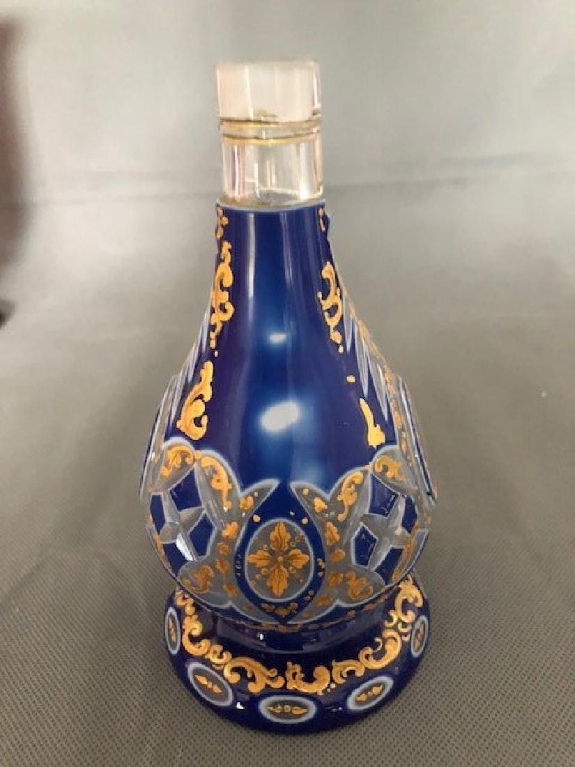 Blue jug with Arabic - 4