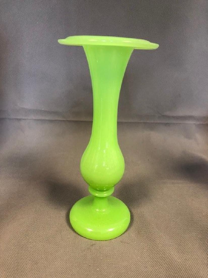 Green French vase