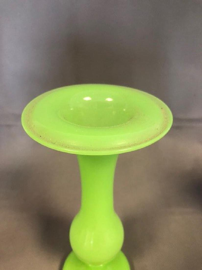 Green French vase - 2