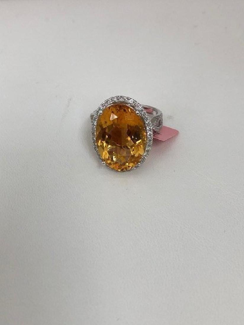 Ladys 14k Diamond Ring