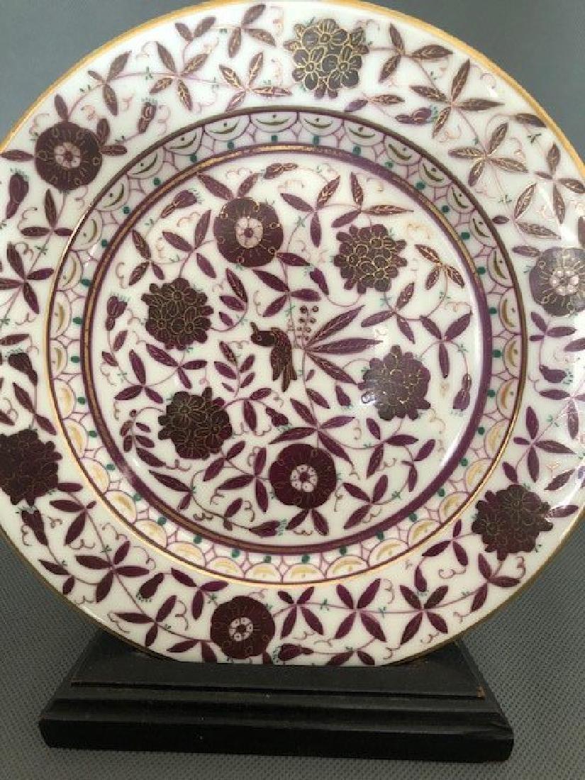 Pair Persian plates - 2