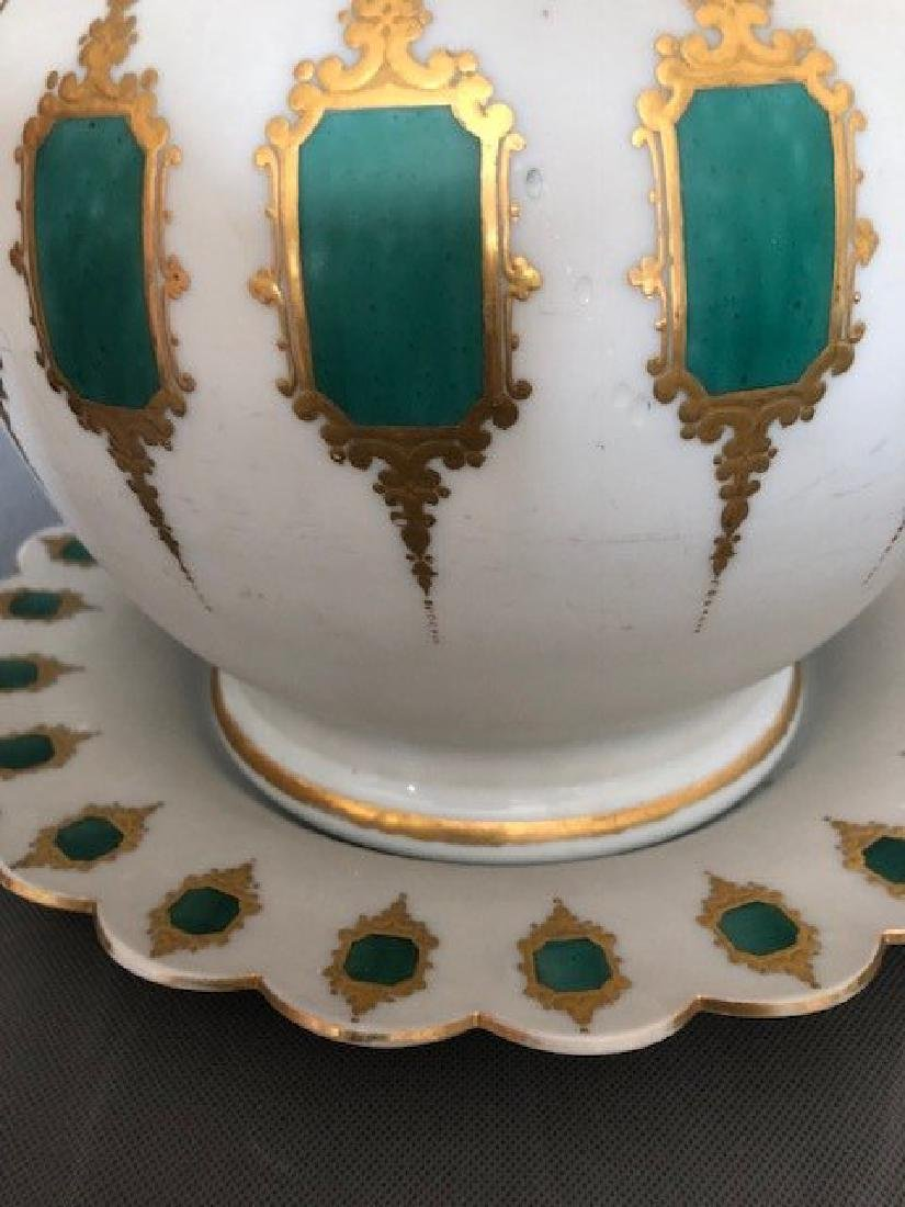 Exceptional punch bowl. Bohemian - 2