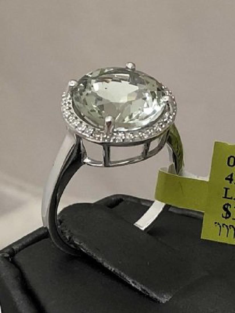 Ladys 14k Diamond Ring - 4