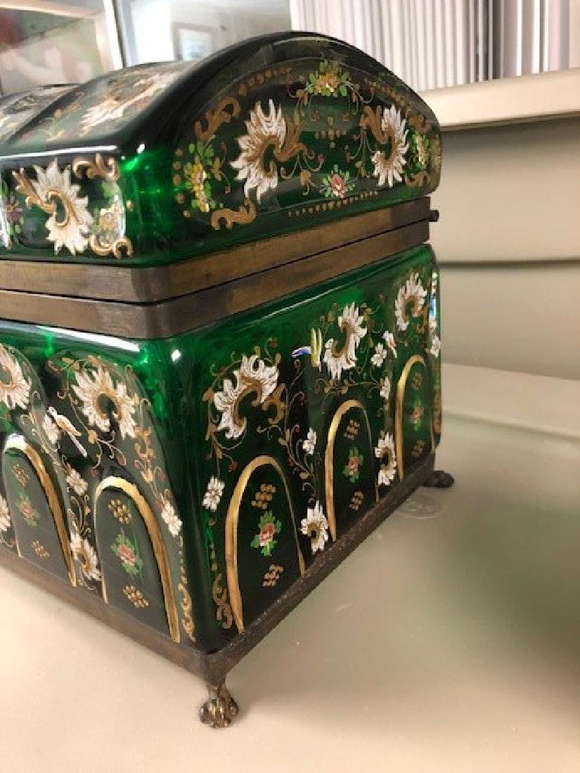 MAGNIFICENT PAIR OF VERY LARGE JEWELRY BOX - 2