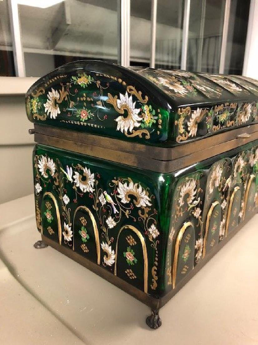 MAGNIFICENT PAIR OF VERY LARGE JEWELRY BOX - 3