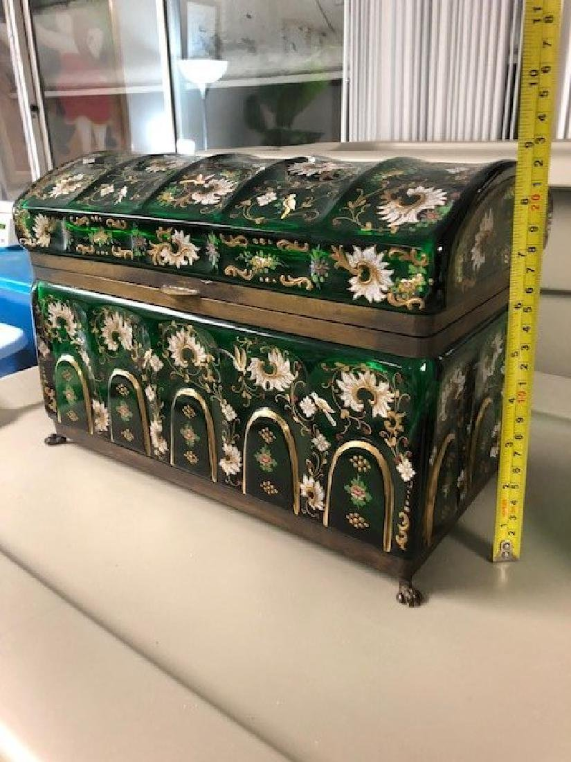 MAGNIFICENT PAIR OF VERY LARGE JEWELRY BOX - 7
