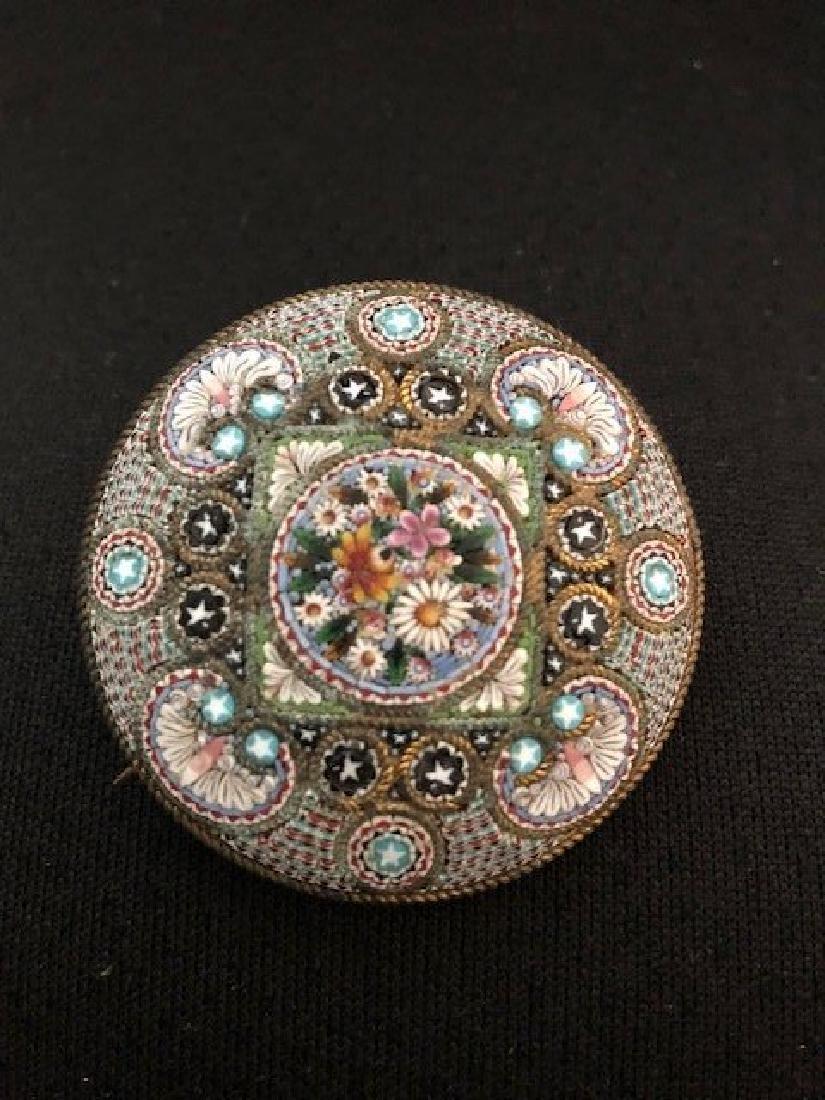 micromosaic waistcoat pin