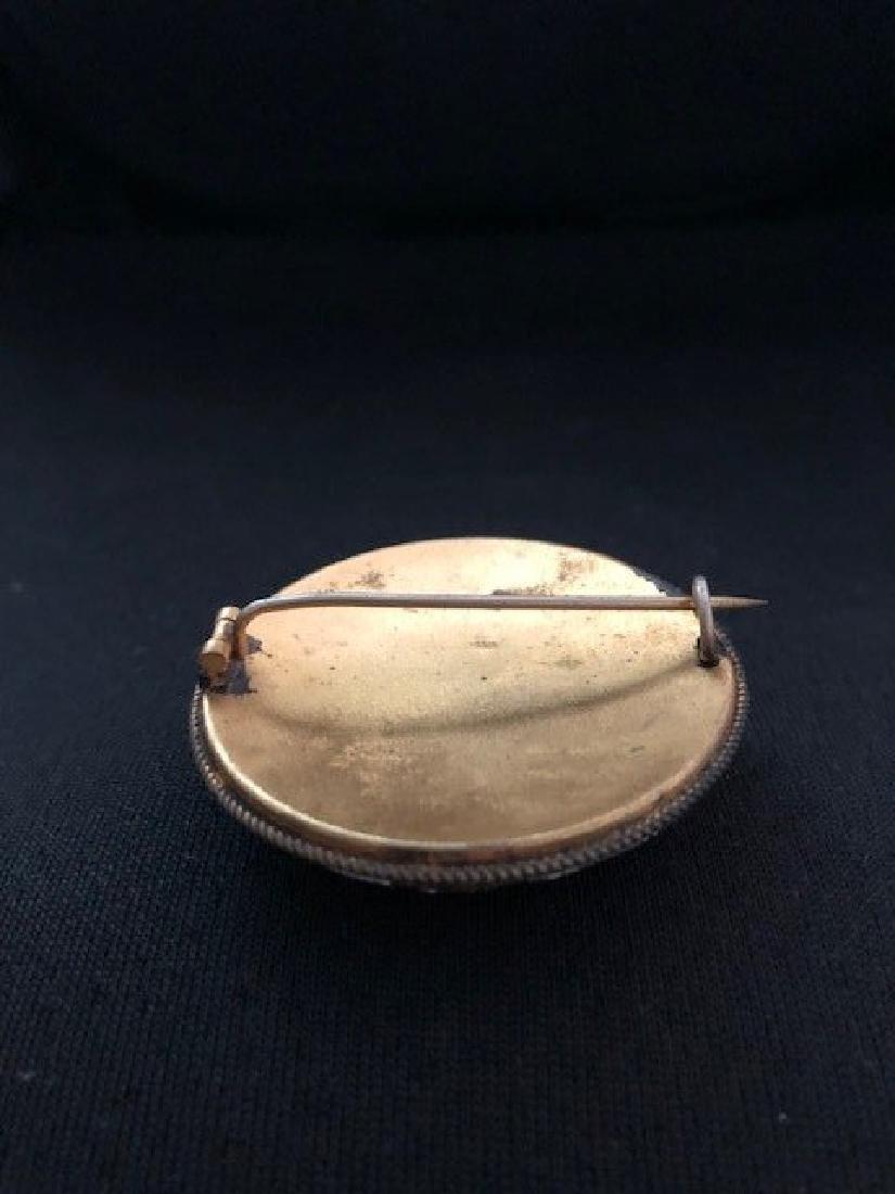 micromosaic waistcoat pin - 2