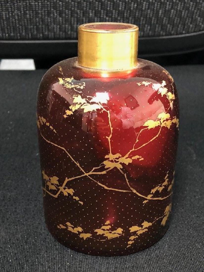 Large Bohemian Portrait Perfume Bottle - 2