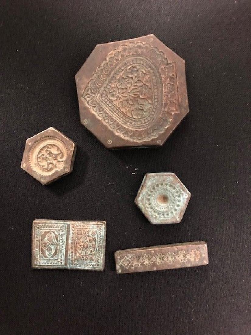 Set of 5 Seal