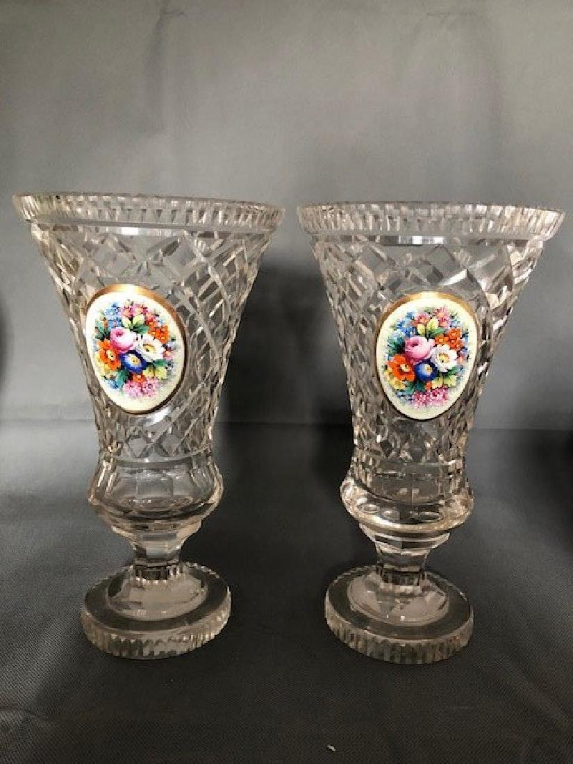 Pair French vases