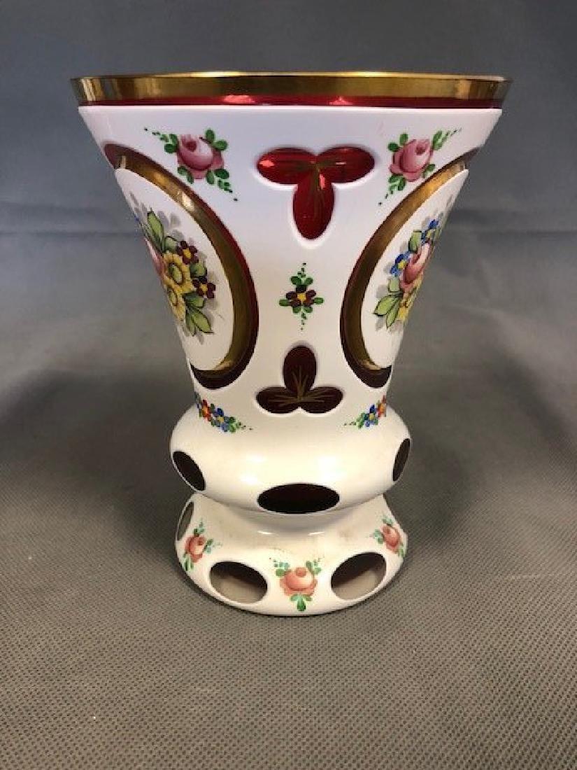 Bohemian goblet 20 century - 2